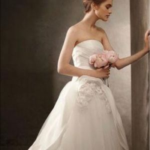 White by Vera Wang Wedding Gown